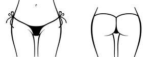 Micro Side Tie G String