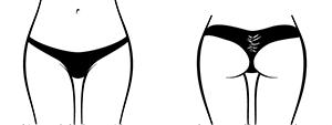 Whale Tale Scrunch Bikini icon