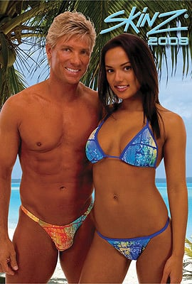 skinz 2008 womens swimwear catalog