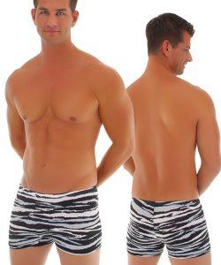 mens zebra boxer brief