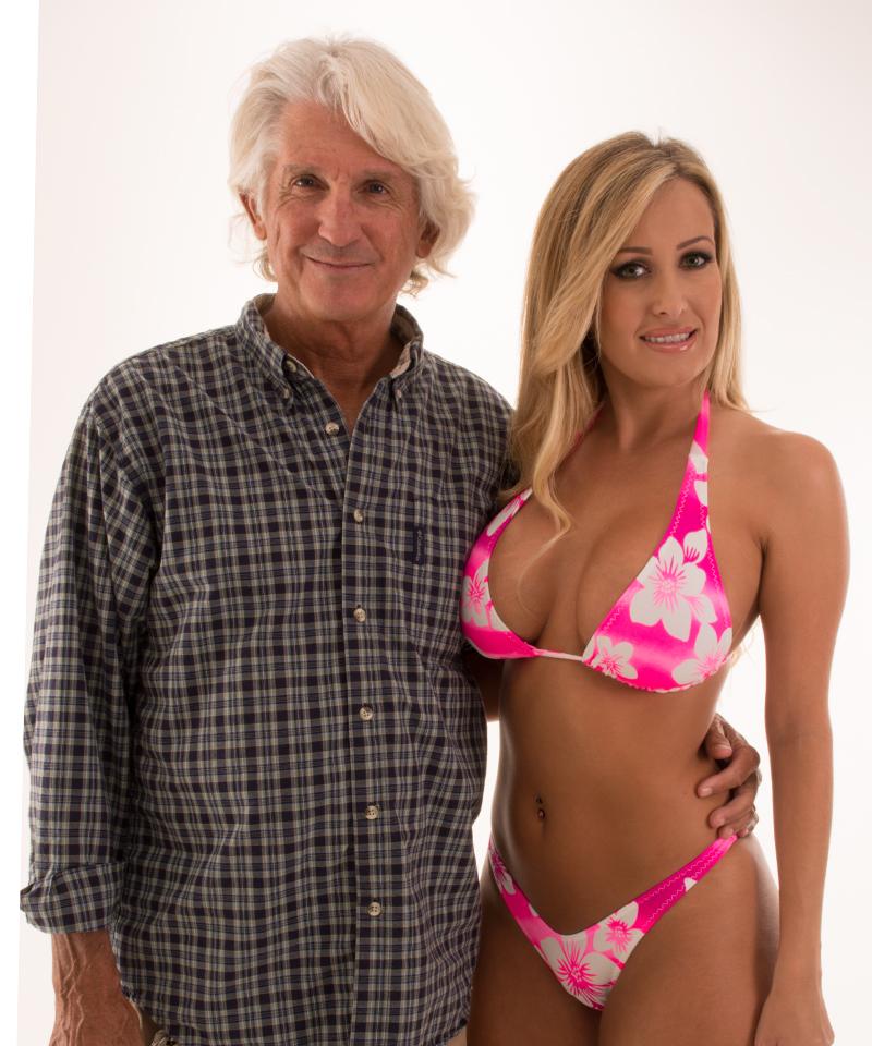 skinz swimwear bikini model